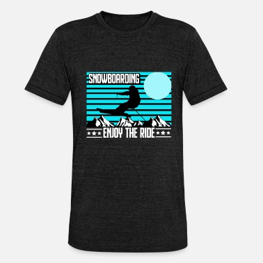 Parks And Recreation Snowboarding - snowboarding - winter sports - Unisex Tri-Blend T-Shirt