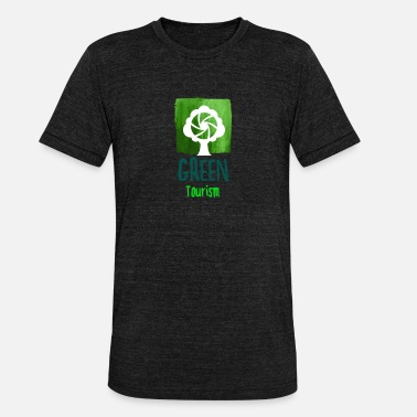 Tourism Green Tree Tourism - Unisex Tri-Blend T-Shirt