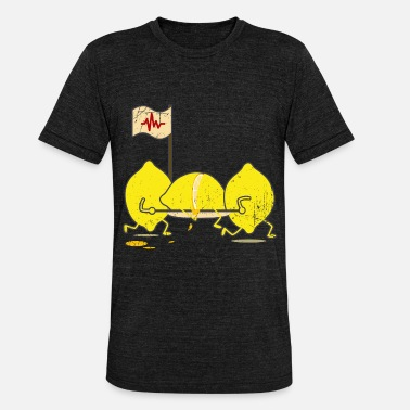 Limonade limonade - Unisex tri-blend T-shirt van Bella + Canvas
