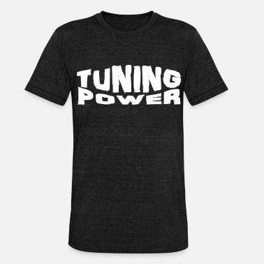 Power Ballads tuning power - T-shirt chiné unisexe