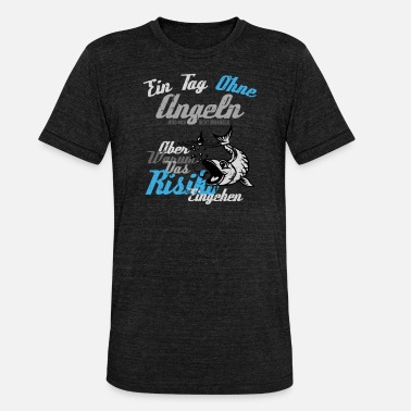 Deep Deep-sea fishing - Unisex Tri-Blend T-Shirt