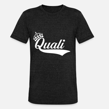 Quali quali - T-shirt chiné Bella + Canvas Unisexe