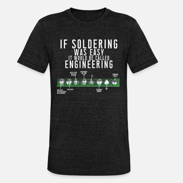 Instructions Soldering instructions - Unisex Tri-Blend T-Shirt