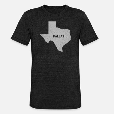 Dallas Cowboys Vintage Dallas Retro Texas Gift - Koszulka Bella + Canvas triblend – typu unisex