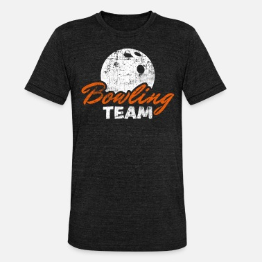 Bowling Team Bowling team - Unisex Tri-Blend T-Shirt