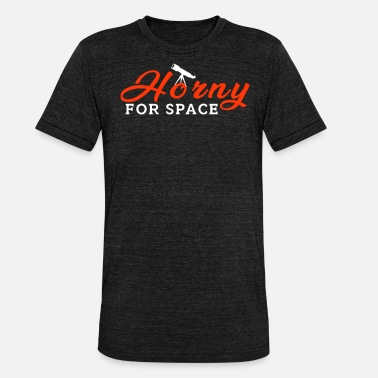 Cérès Space - Horny For Space - T-shirt chiné Bella + Canvas Unisexe