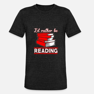 Library Book library library - Unisex Tri-Blend T-Shirt