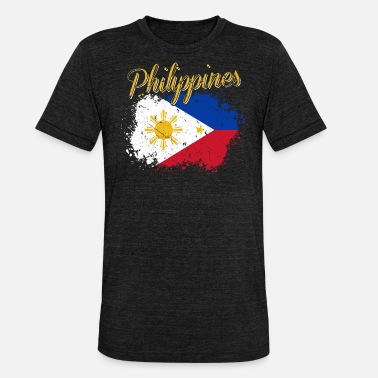 Filipino Filipinas filipino - Camiseta Tri-Blend unisex de Bella + Canvas