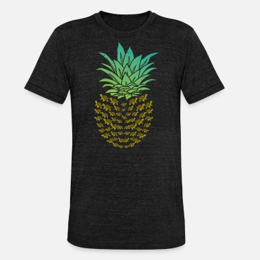 Protection Of The Environment Pineapple Turtle Aquarium - Unisex Tri-Blend T-Shirt