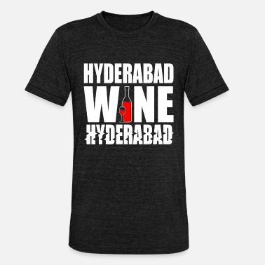 Hyderabad Hyderabad India - Camiseta triblend unisex