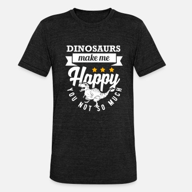 World Dino dinosaur gift gift idea, kids lus - Unisex Tri-Blend T-Shirt