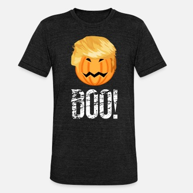 Anti Trump Anti Trump Halloween - Unisex Tri-Blend T-Shirt by Bella & Canvas