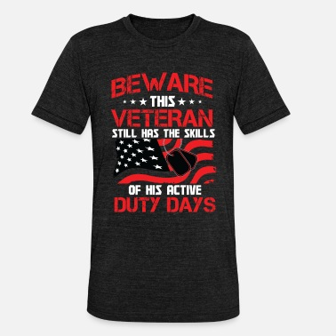 Veterans Day Veterans Day - Veterans Skills - Unisex Tri-Blend T-Shirt