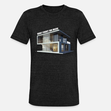Villa THERE YOU WILL FIND ME! (VILLA) - Unisex Tri-Blend T-Shirt