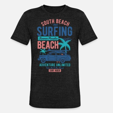 South Beach South Beach - Camiseta Tri-Blend unisex de Bella + Canvas