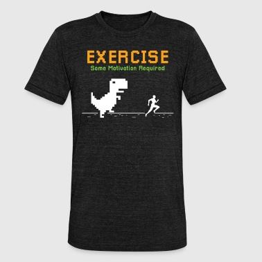 NEED SOME MOTIVATION? - FUNNY WORKOUT SHIRT | GIFT - Unisex Tri-Blend T-Shirt by Bella & Canvas