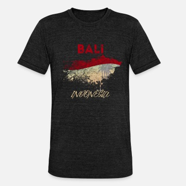 Bali Bali - Unisex tri-blend T-shirt fra Bella + Canvas