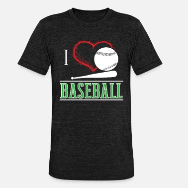 Cool Sports Baseball Sport Cool Gift - Unisex Tri-Blend T-Shirt by Bella & Canvas