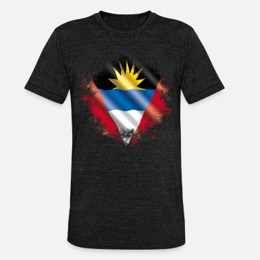 Antigua Antigua Barbuda - Unisex Tri-Blend T-Shirt