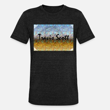 Scott travis scott - Unisex Tri-Blend T-Shirt