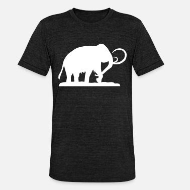 Age De Glace Mammoth Ice Age - T-shirt chiné Bella + Canvas Unisexe