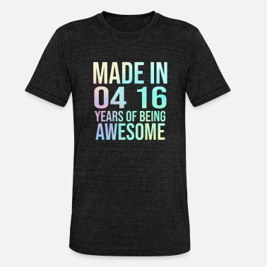 16th Birthday Sweet 16th birthday party gift - Unisex Tri-Blend T-Shirt