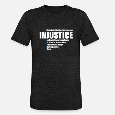 Injustice INJUSTICE! IDEE CADEAU - T-shirt chiné unisexe