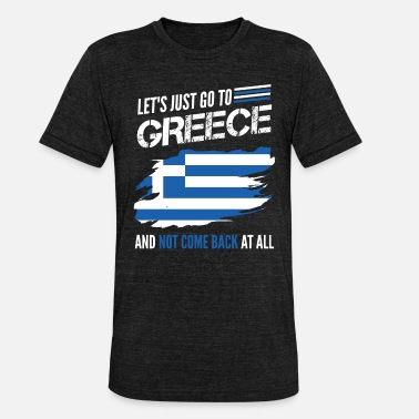 Homesickness Greece homesick - Unisex Tri-Blend T-Shirt