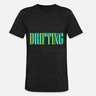 Opar Drifting Drift Car Gift - Koszulka Bella + Canvas triblend – typu unisex