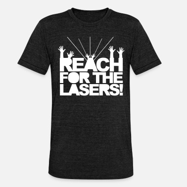 Jumpstyle Reach for the Lasers - Koszulka triblend unisex