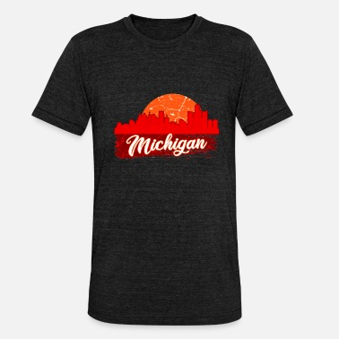 Michigan Michigan - Unisex T-Shirt meliert