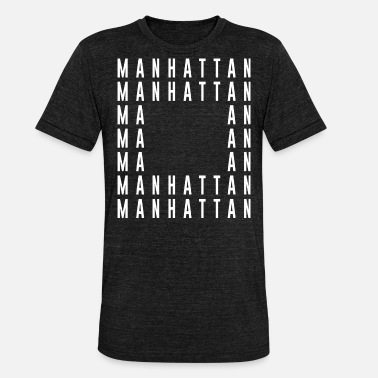 College Manhattan NYC - Unisex Tri-Blend T-Shirt