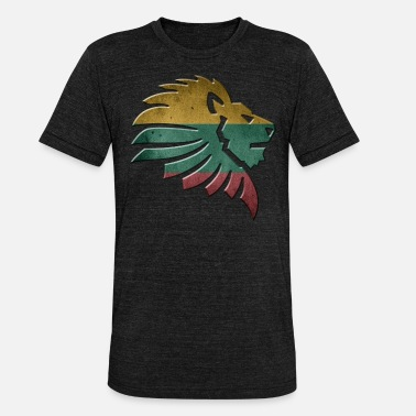 Lithuania Lithuania - Unisex Tri-Blend T-Shirt by Bella & Canvas