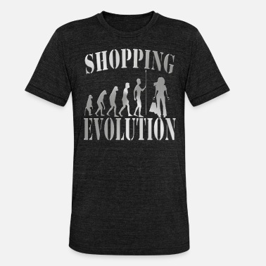 Shopping Frenzy shopping - Unisex Tri-Blend T-Shirt by Bella & Canvas