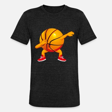 Dabbing Basketball Graphic Kids Boys Dab Dance - Unisex triblend T-shirt