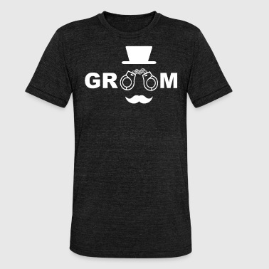 Groom To Be GROOM - groom - Unisex Tri-Blend T-Shirt by Bella & Canvas
