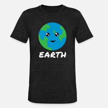 Galaxey earth - Unisex Tri-Blend T-Shirt