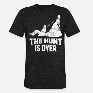 Hunt JGA - The Hunt is Over - Unisex Tri-Blend T-Shirt