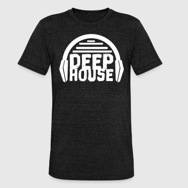 Deep House - Unisex Tri-Blend T-Shirt by Bella & Canvas