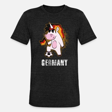 National Team National Team Unicorn - Unisex Tri-Blend T-Shirt