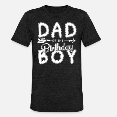 Father Of The Birthday Girl Partner Look Dad Shirt - Unisex Tri-Blend T-Shirt