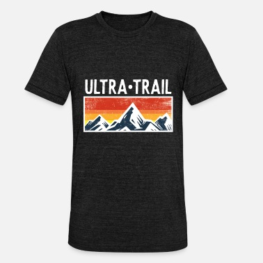 Ultramarathon Ultra Trail Runner Mountains bergen cadeau lopers - Unisex triblend T-shirt