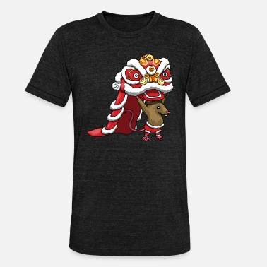Chinese New Year Chinese New Year Rat Chinese New Year 2020 - Unisex Tri-Blend T-Shirt