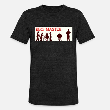 Bbq Master BBQ Master Barbecue Grill Party - Ontwerp - Unisex triblend T-shirt