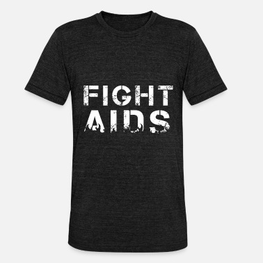Aid Mot aids - Triblend-T-shirt unisex från Bella + Canvas