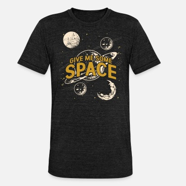 Celestial Bodies Outer space celestial body - Unisex Tri-Blend T-Shirt