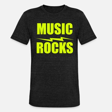 Rock Music music rocks - Unisex T-Shirt meliert