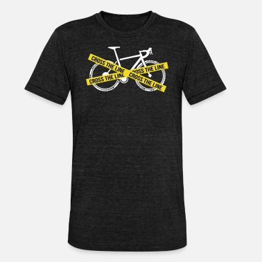 Cyclocross Cyclist cyclocross bike gift - Unisex Tri-Blend T-Shirt