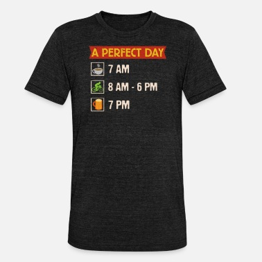 Bicycle Day Perfect Day Bicycle Wheel - Unisex Tri-Blend T-Shirt by Bella & Canvas