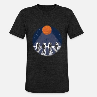 Astronaut Walk on the Moon - Unisex Tri-Blend T-Shirt